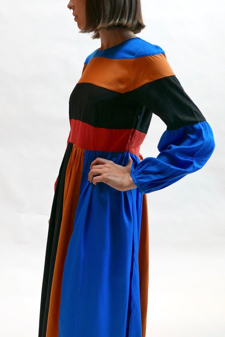 Mara Hoffman Francoise Dress - Domino Colorblock