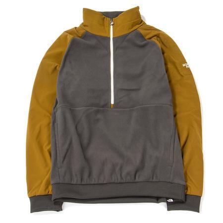 The North Face Black Box Extreme 1/4 Zip Fleece - Asphalt Grey
