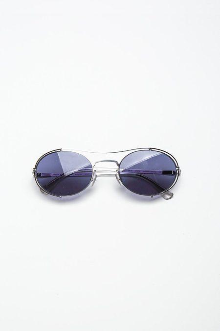 Mykita Mmcraft002 Sunglasses - Indigo Solid
