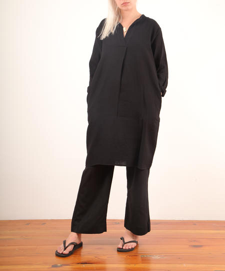 Hartford Roni Tunic Dress - Black