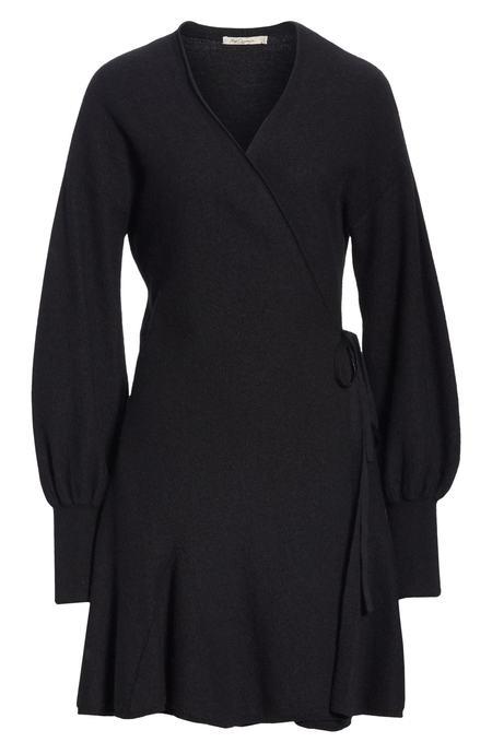 Mes Demoiselles Sevilla Wrap Dress - Black