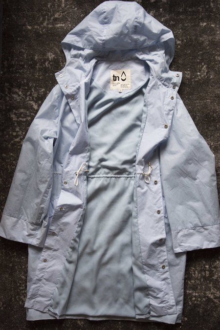 Unisex Trevor Nathan 1st Production Raincoat - Sky Blue/Sky Blue