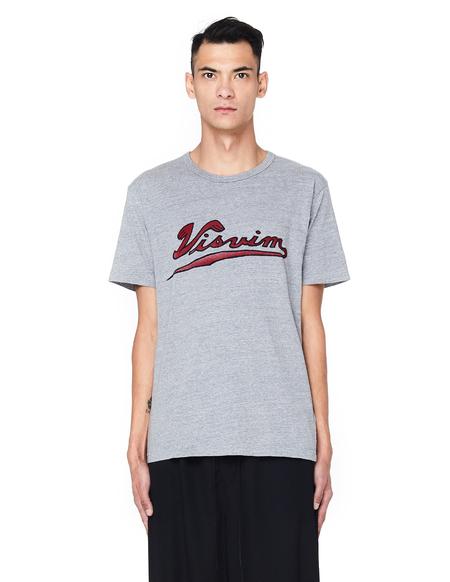Visvim Logo Cotton T-Shirt - Grey