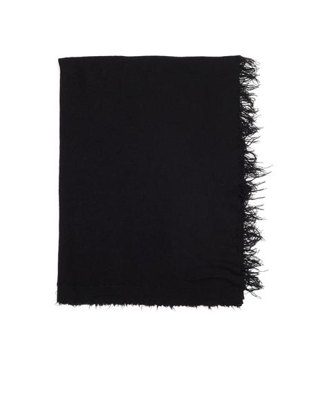 Ziggy Chen Cashmere Scarf - Black