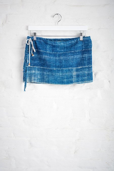 A Friend Made Cali Skirt - blue