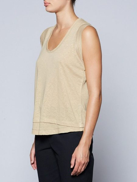 Brochu Walker Artesia Tank - Sable Khaki