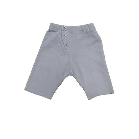 Kids Go Gently Nation Long John Short - Creamy Silver Solid