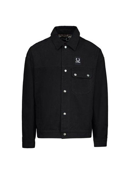 Raf Simons X Fred Perry Oversized Jacket - Black
