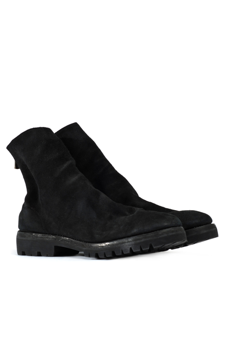Guidi 796V Back Zip Ankle Boots - Black
