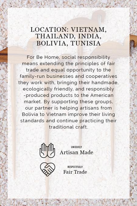 Be Home Marble Stripe Geometric Board