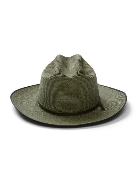 STETSON Open Road Hemp Fedora - Sage