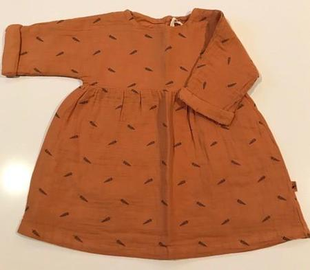 Kids My Little Cozmo Dress Nature - Caramel