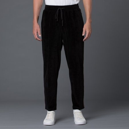 s.k. manor hill Braided Velour Maestro Pant - Black