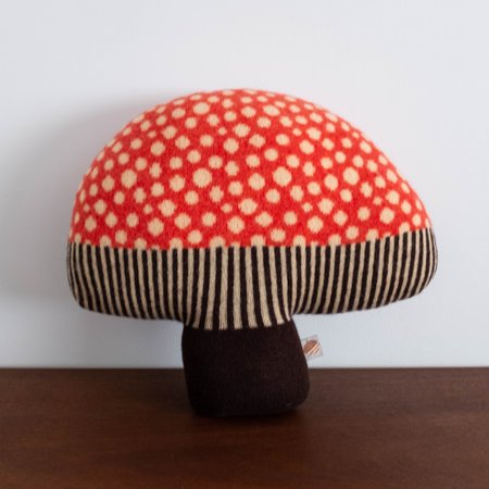 Kids Donna Wilson Mushroom Cushion Pillow