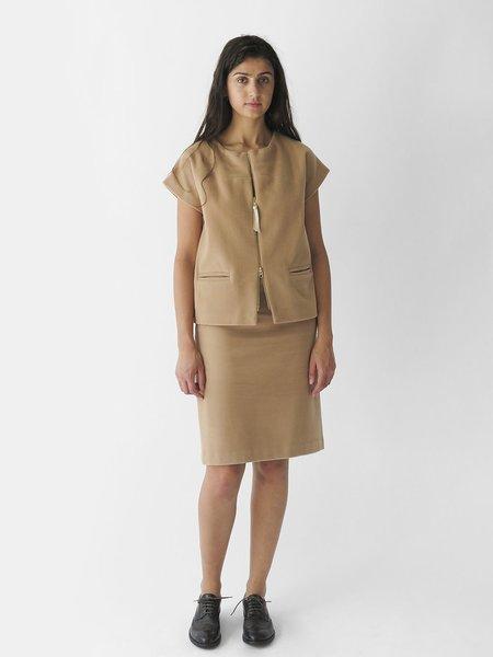 Erica Tanov Smith Skirt - Limestone