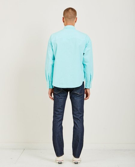 Levi's Made & Crafted Poggy Western Shirt - Teal