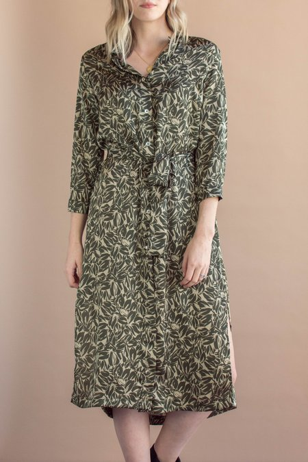 Sway and Cake Lorna Dress - Green Envy