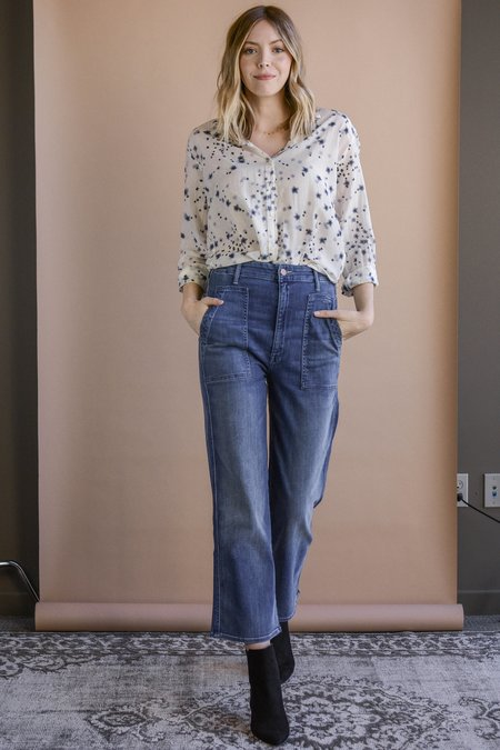 Mother Denim The Patch Pocket Greaser Jeans - Everything We Keep