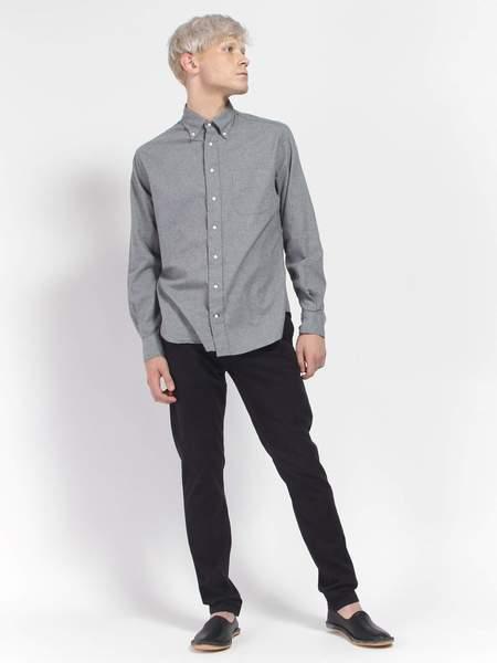 Gitman Vintage Classic Flannel Shirt - Gray
