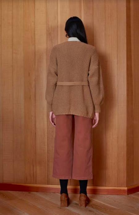 First Rite Sweater Coat - Camel
