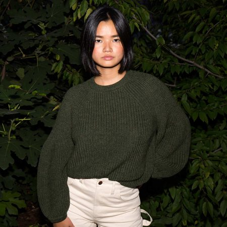 Mara Hoffman Eliza Sweater - Olive