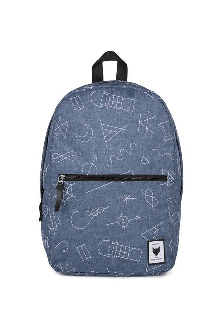 UNISEX The Pack Society EMBROIDERY BACKPACK - COMMUTER BLUE