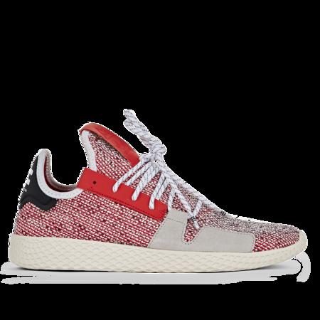 ADIDAS X PHARELL WILLIAMS AFRO TENNIS HU V2 sneaker - RED