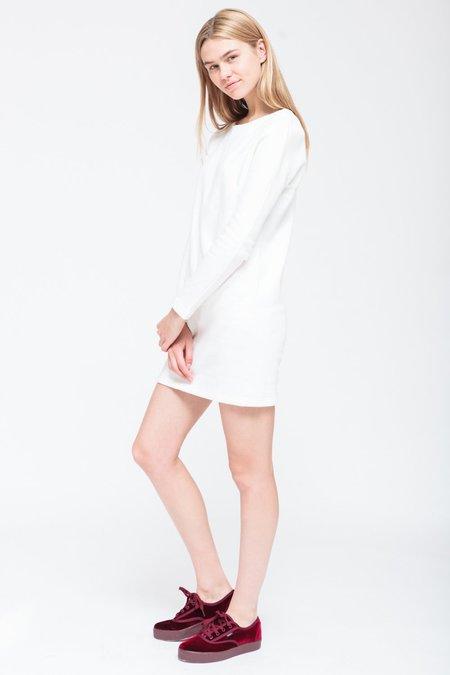 BUREAU TONIC MCLAUGHLIN DRESS - WHITE