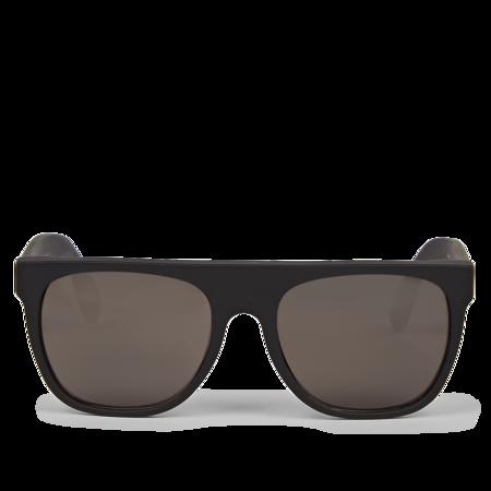 RetroSuperFuture FLAT TOP MATTE eyewear - BLACK