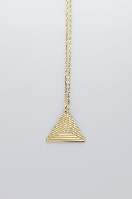 MOODLIKEME PYRAMID B NECKLACE