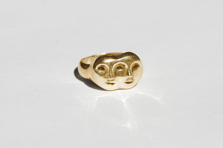 Mondo Mondo Janus Ring - Brass