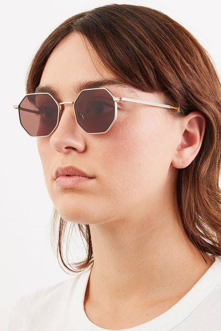 UNISEX KOMONO The Monroe EYEWEAR - White Gold
