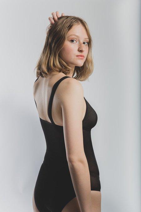 eb4e3f7285d7 Womenswear / Tops / Bodysuits. Baserange Minnesota Body - Black Fine Mesh  ...