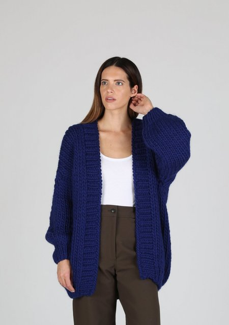 I love Mr. Mittens The Cardigan - Navy