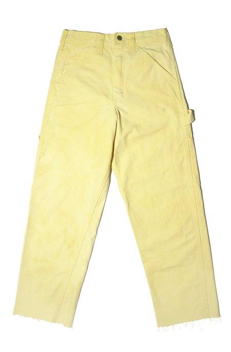 Upstate Dyed Dickies Pants - Turmeric