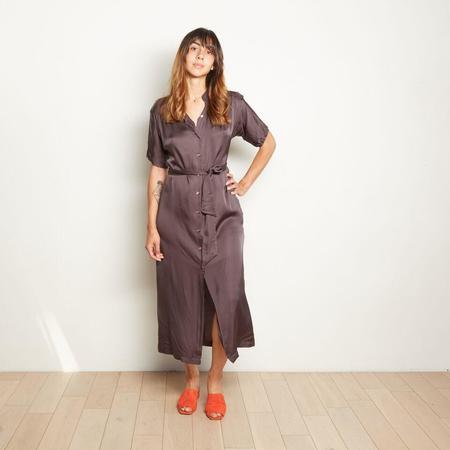 CaliDreaming Palma Dress - Paris Charcoal