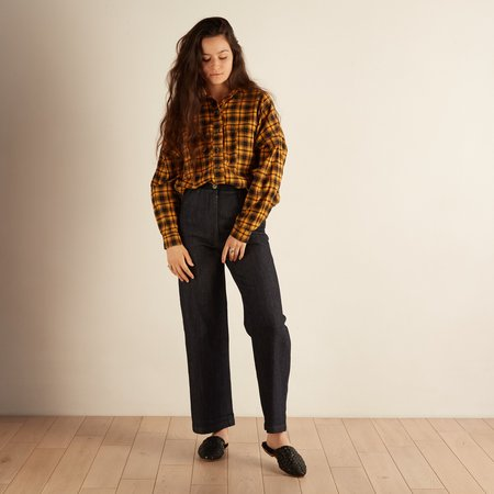 Nico Nico Alanis Button Down - Plaid