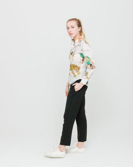 G.Kero Animals Shirt - Off White Patterned