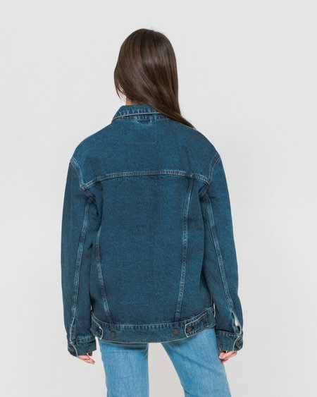 Unisex Cheap Monday Upsize Denim Jacket - Norm Core