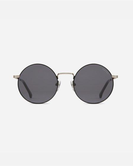 Komono The Lennon Sunglasses - Silver/Black