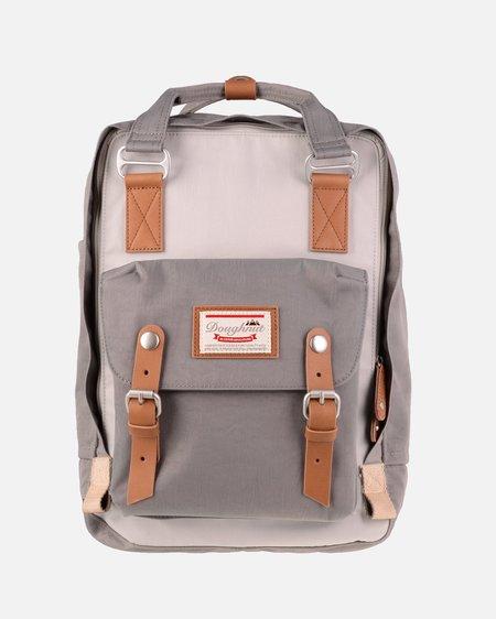 Doughnut Macaroon Backpack - Ivory/Light Grey