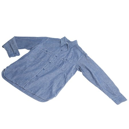 Buzz Rickson's USN Chambray Shirt - Blue