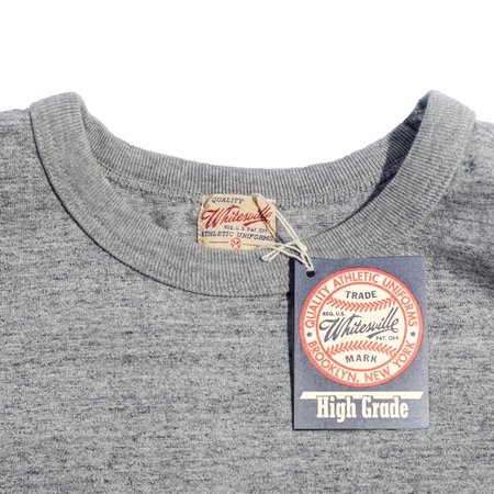 Sugar Cane Whitesville Heavyweight Pocket T-Shirt - Heather Gray