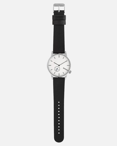 Komono Winston Subs Watch - Silver/White