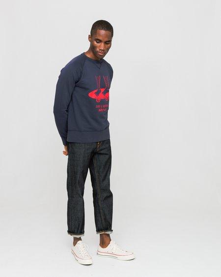 Edmmond Studios Barefoot Sweatshirt - Navy