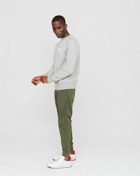 Edmmond Studios Cross Sweatshirt - Grey Melange