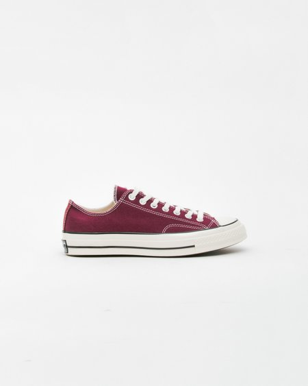 Unisex Converse Chuck Taylor All Star '70 OX Shoes - Dark Burgundy
