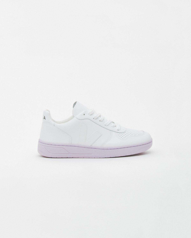 UNISEX Veja V10 Shoes - Extra White