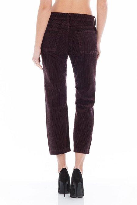 Fidelity Denim Taylor Cord Pants - Merlot