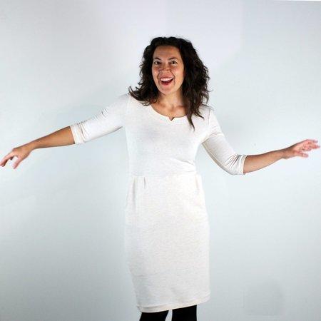 Atelier b. Jersey Dress - Heather Almond